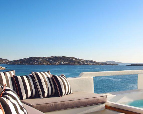 1. 5 star Hotels Mykonos Town