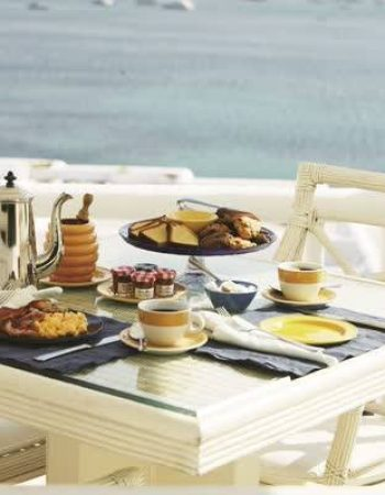 """AM"" Homemade Buffet Breakfast by Kivotos Hotel Mykonos"