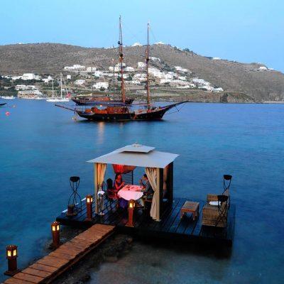 'Nero Nero', Private Dining by Kivotos Hotel, Mykonos