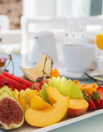 """AM"" Homemade Buffet Breakfast by Kivotos Hotel Mykonos"