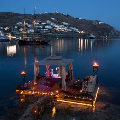 'Nero Nero', Private Dining by Kivotos Hotel, Mykonos