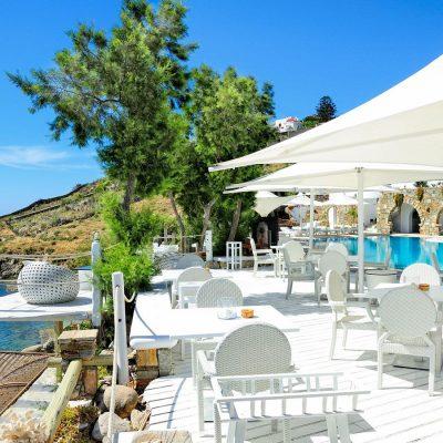 Le Pirate Poolside Restaurant by Kivotos Hotel, Mykonos