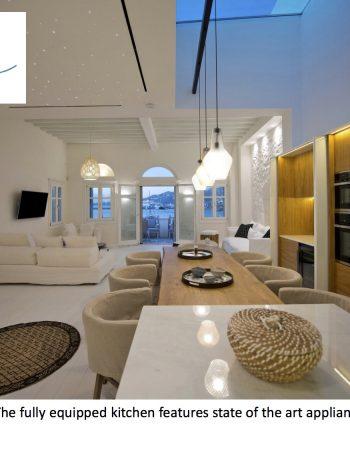Pnoe Seafront Residence in Mykonos