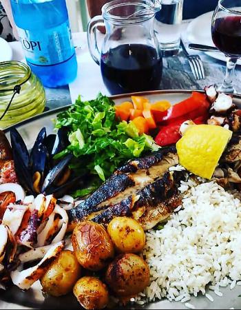 Fish Restaurant Kounelas Mykonos